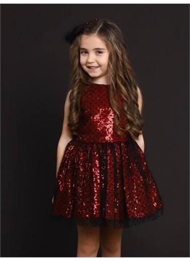 Riccotarz Kız Çocuk Beautiful Princess Kırmızı Abiye Kırmızı